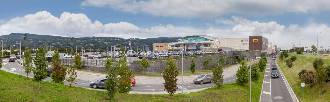 Vista del centro Fontanar Mall